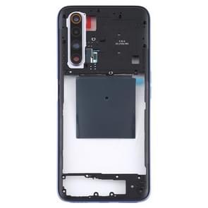 Middle Frame Bezel Plate voor OPPO Realme X50 5G (Zilver)