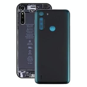 Batterij Back Cover voor Motorola One Fusion (Groen)