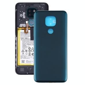 Batterij Back Cover voor Motorola Moto G9 Play / Moto G9 (India) (Groen)