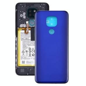 Battery Back Cover voor Motorola Moto G9 Play / Moto G9 (India) (Paars)