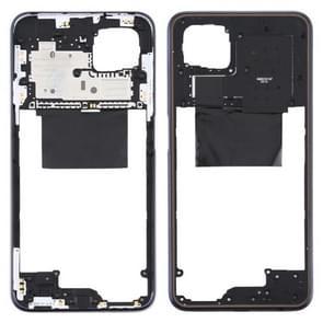 Middle Frame Bezel Plate voor OPPO A92s PDKM00 (Zwart)