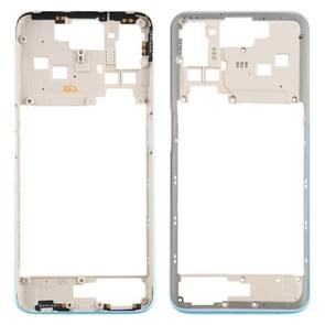 Middle Frame Bezel Plate voor OPPO A52 CPH2061 / CPH2069 (Global) / PADM00 / PDAM10 (China) (Wit)
