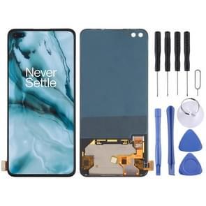 LCD-scherm en digitizer volledige assemblage voor OnePlus Nord / 8 Nord 5G / Z(Zwart)