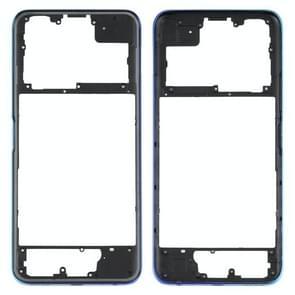 Middle Frame Bezel Plate voor Vivo Y51s V2002A (Blauw)
