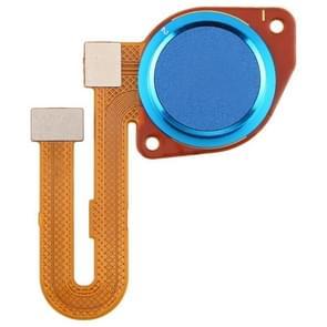 Vingerafdruk sensor Flex kabel voor Motorola Moto G9 Play (Baby Blue)
