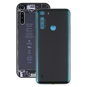 Batterij back cover voor Motorola One Fusion / XT2073-2 (groen)