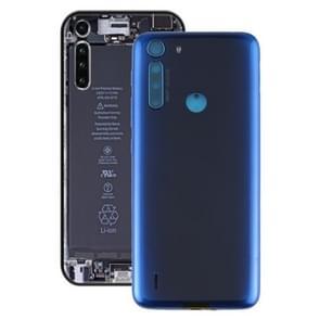 Batterij back cover voor Motorola One Fusion / XT2073-2 (blauw)
