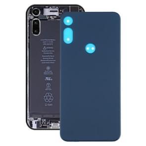 Batterijrugdekking voor Motorola Moto E (2020) (blauw)