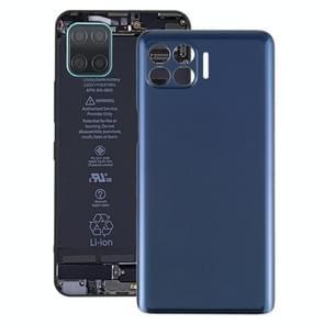 Batterij back cover voor Motorola One 5G UW / Een 5G / Moto G 5G Plus / XT2075 XT2075-2 XT2075-3 (Blauw)