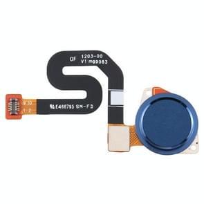 Vingerafdruksensor Flex-kabel voor Motorola Moto G7 Play/Moto G7 Power XT1955(Blauw)