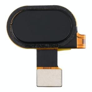 Vingerafdruksensor Flex-kabel voor Motorola Moto G5 XT1672 XT1676 (zwart)