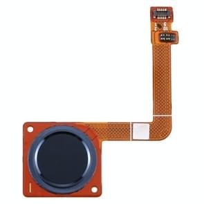 Vingerafdruksensor Flex-kabel voor Motorola Moto G7 Plus(Blauw)