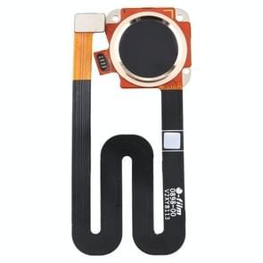 Vingerafdruksensor Flex-kabel voor Motorola Moto G6 Play (Goud)