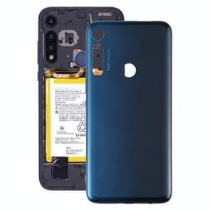 Originele batterij achterkant voor Motorola Moto One Fusion Plus PAKF0002IN (Blauw)
