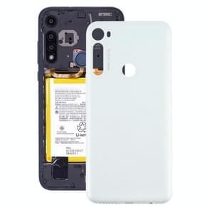 Originele batterij achterkant voor Motorola Moto One Fusion Plus PAKF0002IN (Wit)