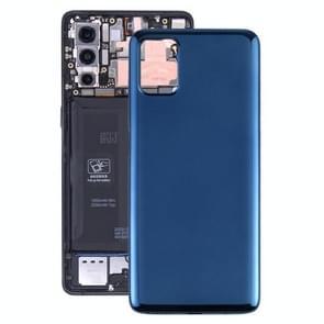 Originele batterij achterkant voor Motorola Moto G9 Plus XT2087-1 (Blauw)