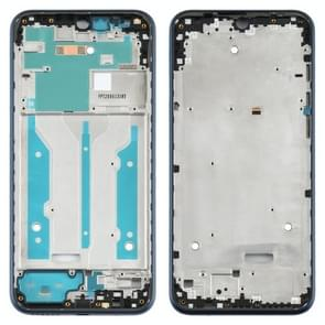 Front Housing LCD Frame Bezel Plate voor Motorola Moto E (2020) (Blauw)