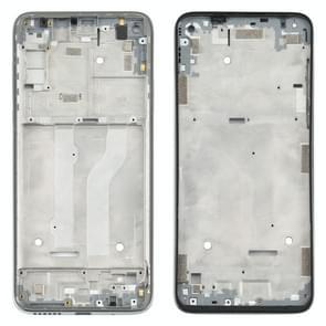 Front Housing LCD Frame Bezel Plate voor Motorola Moto G Fast (Zilver)