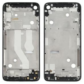 Front Housing LCD Frame Bezel Plate voor Motorola Moto G Stylus XT2043 XT2043-4 (Zwart)