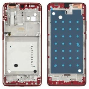Front Housing LCD Frame Bezel Plate voor Motorola One Hyper XT2027 XT2027-1 (Oranje)