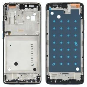 Front Housing LCD Frame Bezel Plate voor Motorola One Hyper XT2027 XT2027-1 (blauw)