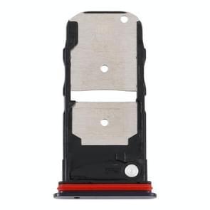SIM-kaartlade + SIM-kaartlade / Micro SD-kaartlade voor Motorola Edge XT2063-3 (zwart)