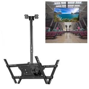 32-65 inch universele hoogte & hoek verstelbare dubbelzijdige TV wandmontage plafond dual-use beugel  intrekbaar bereik: 0.5-1M