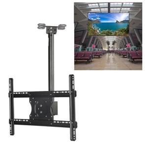 32-65 inch universele hoogte & hoek verstelbare LCD-TV wandmontage plafond dual-use beugel  intrekbare lengte: 2m