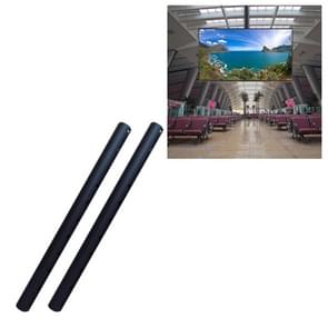 Lengthened Pole for 32-70 inch & 32-65 inch Universal Single Screen TV Ceiling Bracket, Length: 1m
