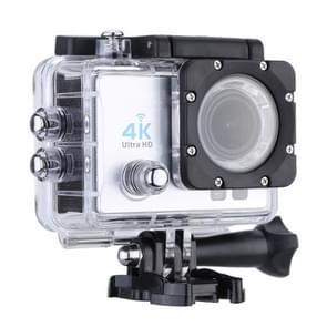 Q3H 2 0 inch scherm WiFi sport actie camera camcorder met waterdichte behuizing geval  Allwinner v3  170 graden groothoek (wit)