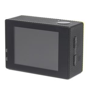 H16 1080P draagbare WiFi Waterdicht Sport Camera  2.0 inch scherm  Generalplus 4248  170 A + graden brede hoeklens  steun TF Card(geel)