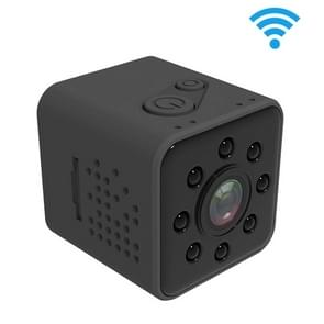 SQ23 Ultra-Mini DV Pocket WiFi 1080P 30fps Digital Video Recorder 2.0MP Camera Camcorder with 30m Waterproof Case, Support IR Night Vision (Black)