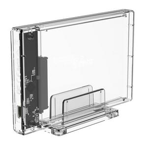 Transparent Series 2.5 inch 10Gbps Hard Drive Enclosure with Stand