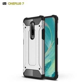 Magic Armor TPU + PC Combination Case for OnePlus 7(Silver)