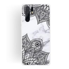 Diagonal Lace Matte Semi-transparent TPU Marble Phone Case for Huawei P30 PRO