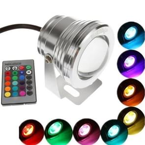 YouOKLight YK6222 10W RGB LED Underwater Waterproof Spotlight with Remote Control, AC / DC 12V