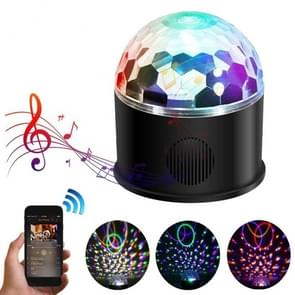 YouOKLight YK2301 9-Colors Bluetooth Speaker Magic Crystal Ball KTV Disco Party Strobe Stage Light with Remote Control