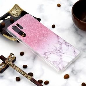 Fashion Pattern TPU Shockproof Protective Case for Huawei P30 Pro(Marble)