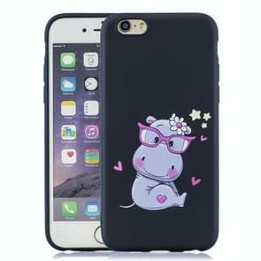 Schokbestendige beschermer cover volledige dekking siliconen case voor iPhone 6 plus/6s plus (Hippo)