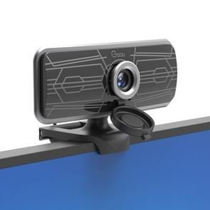 Gsou T16s 1080P HD-webcam met ingebouwde covermicrofoon voor online lessen Broadcast Conference Video