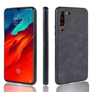 Shockproof Sheep Skin PC + PU + TPU Case for Lenovo Z6 Pro(Black)