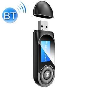 T13 Bluetooth 5.0-stationvrije USB Bluetooth-ontvanger en -zender met scherm