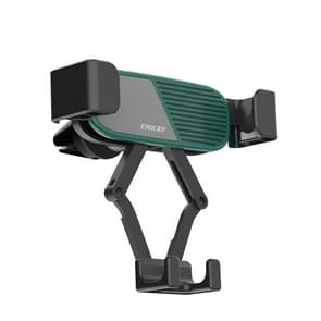 ENKAY ENK-CM104 Magnetic Auto Gravity Car Holder Draaibare Auto Air Vent Mount Telefoonhouder (Groen)