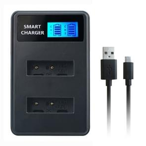 Voor Sony NP-BX1 Smart LCD Display USB Dual Charger