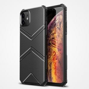 Voor iPhone 12 Diamond Shield TPU Drop Protection Case(Zwart)