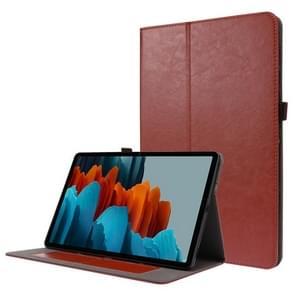 Voor Samsung Galaxy Tab S7+ T970/T976B 2-opvouwbare business horizontale flip pu lederen tas met kaartslots & -houder(Gongkeli-kleur)