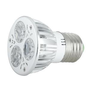 E27 LED Spotlight 3W 550~650LM 85-235V High Power LED Small Spotlight (Cool White)
