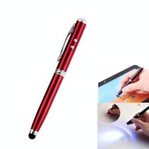 At-15 3 in 1 Mobile Phone Tablet Universal Handwriting Touch Screen with Red Laser & LED Light Function(Red)