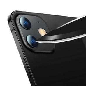 mocolo 0 15mm 9H 2.5D Round Edge Camera Lens Tempered Glass Film Voor iPhone 12 (Clear)
