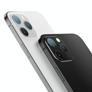 2PCS mocolo 0 15mm 9H 2.5D Round Edge Camera Lens Tempered Glass Film For iPhone 12 Pro Max(Clear)